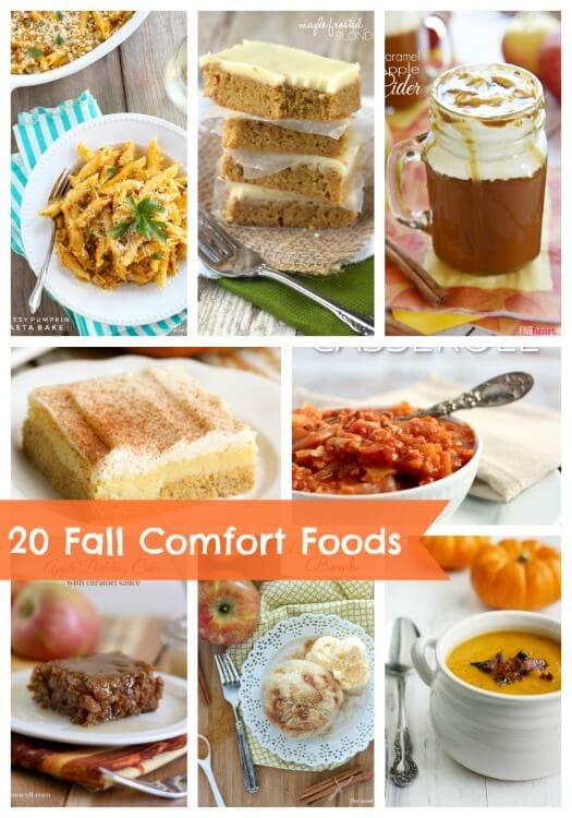 20 fall comfort food recipes link party features i heart nap time forumfinder Images