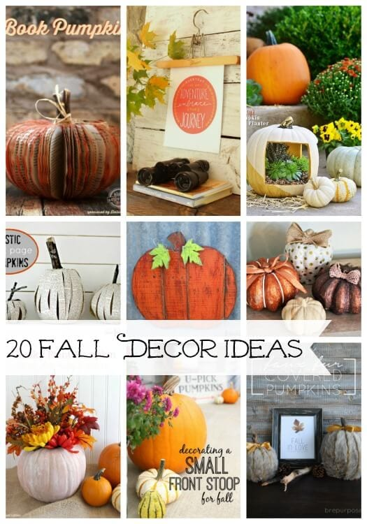 20 Fall Decor Ideas
