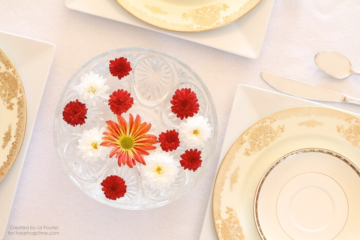 Easy Thanksgiving Centerpiece from LoveGrowsWild.com on iheartnaptime.com