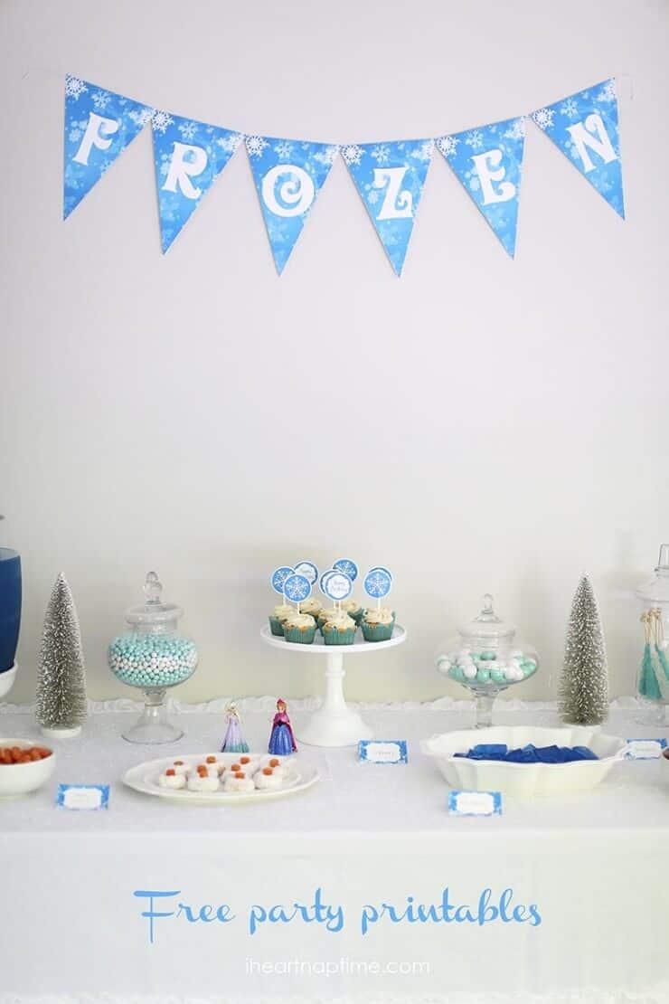 Pesta Ulang Tahun Frozen