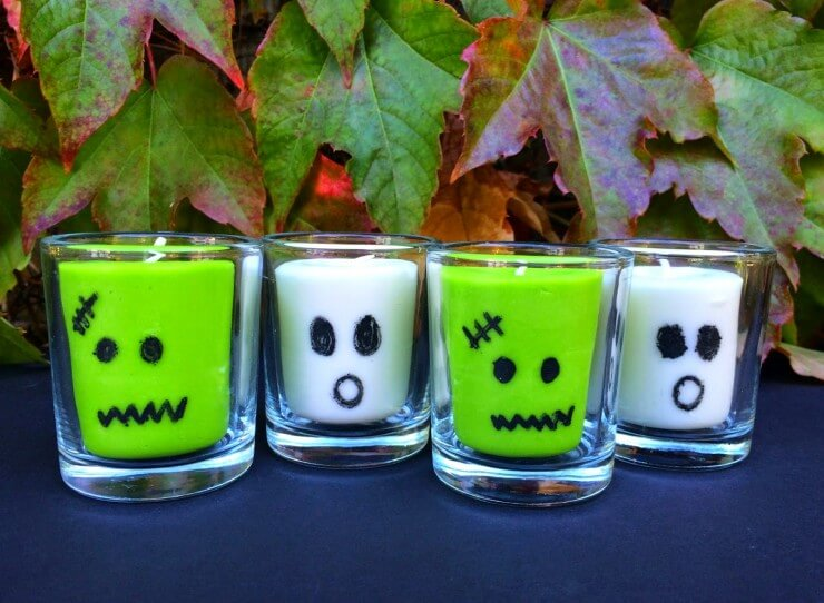 Halloween Candles all