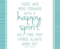 Happy spirit free printable download