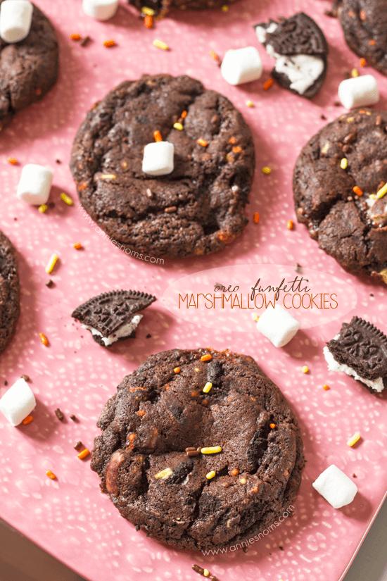 Oreo-Funfetti-Marshmallow-Cookies-4