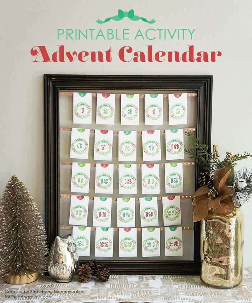 Printable Activity Advent Calendar
