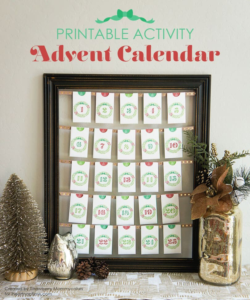Printable Activity Advent Calendar - I love my Shilhouette and have a discount code for you to get an amazing packaged bundle!