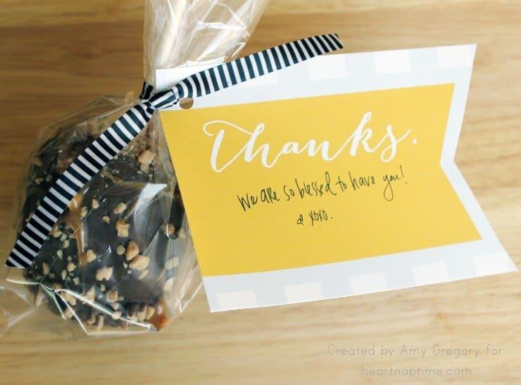 Thank You Tags on iheartnaptime.com