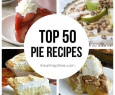 Top 50 pie recipes