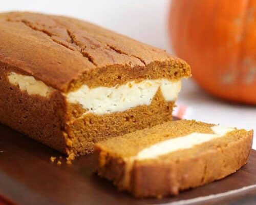 pumpkin cream cheese bread