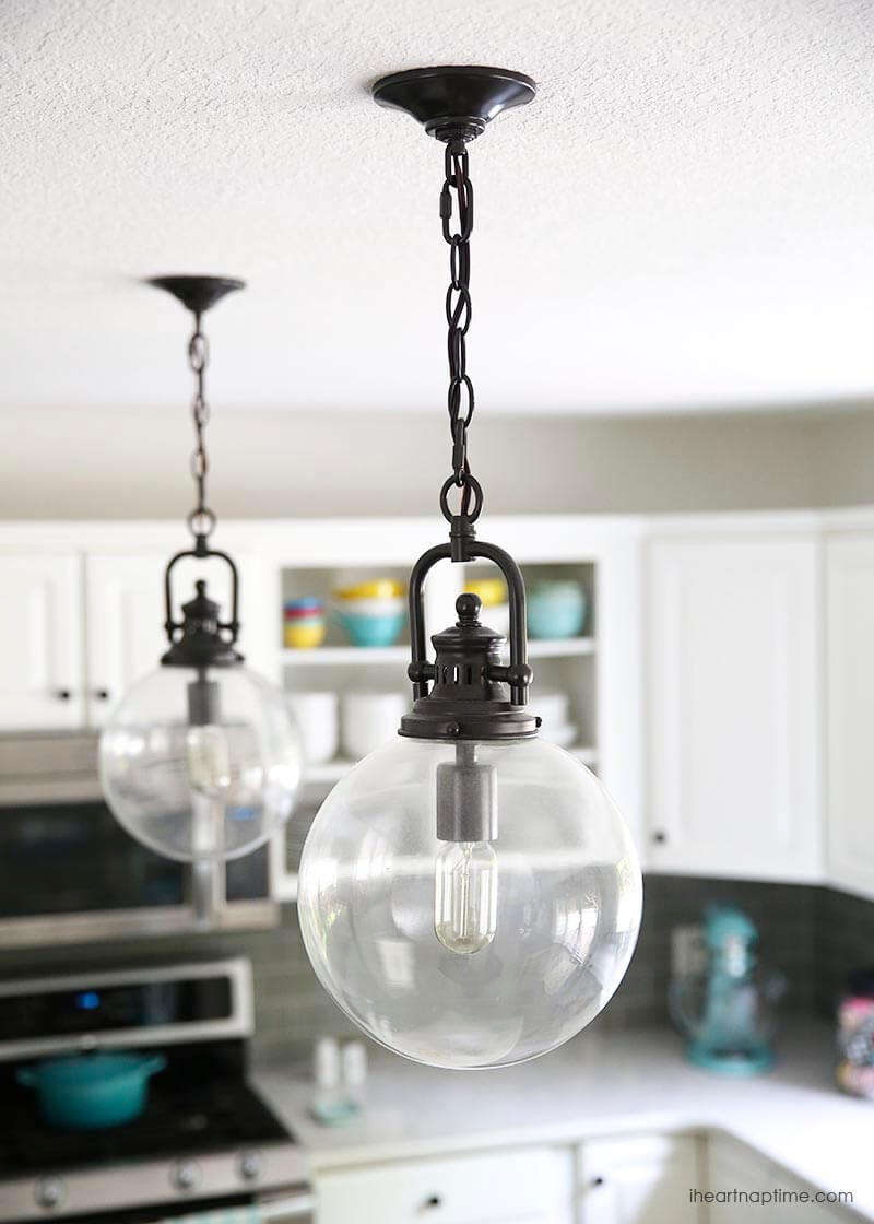 Industrial globe lights