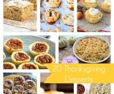 20 Thanksgiving Dessert Ideas