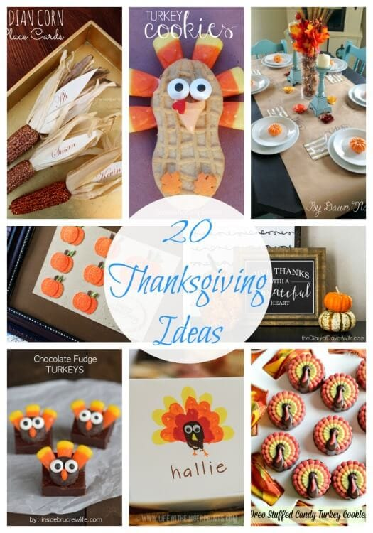 20 Thanksgiving Ideas