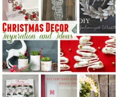 Christmas Decor Inspiration and Ideas