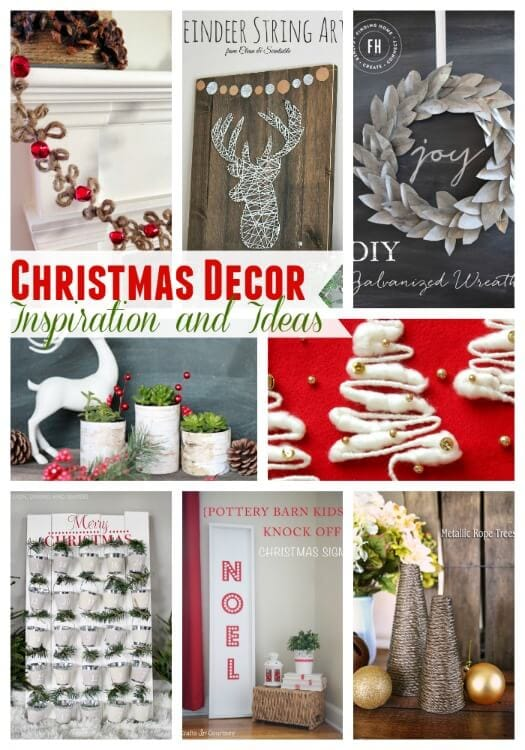 Christmas Decor Inspiration and Ideas