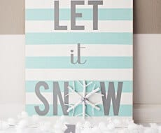 DIY-Winter-Sign-and-Snowflake-Craft
