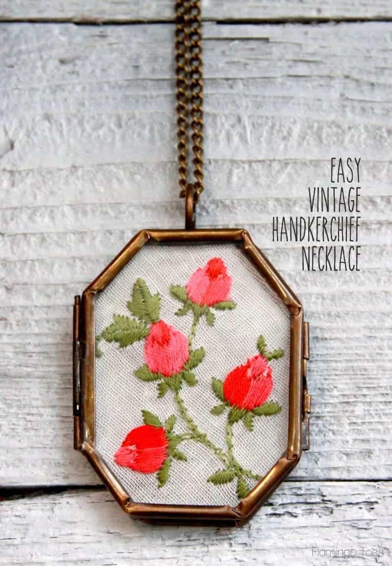 Easy-Vintage-Handkerchief-Necklace