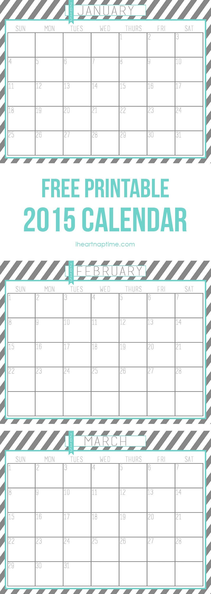 calendar pages 2015