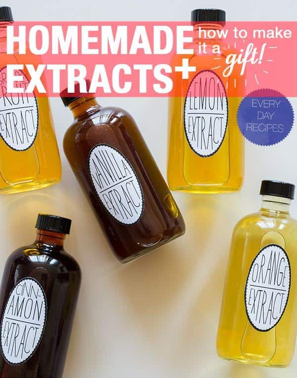 Homemade extracts