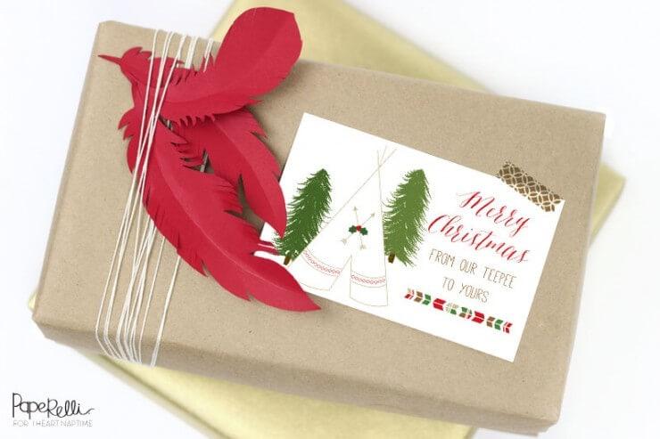Gift Wrapping Free Printable by Paperelli on iheartnaptime.com