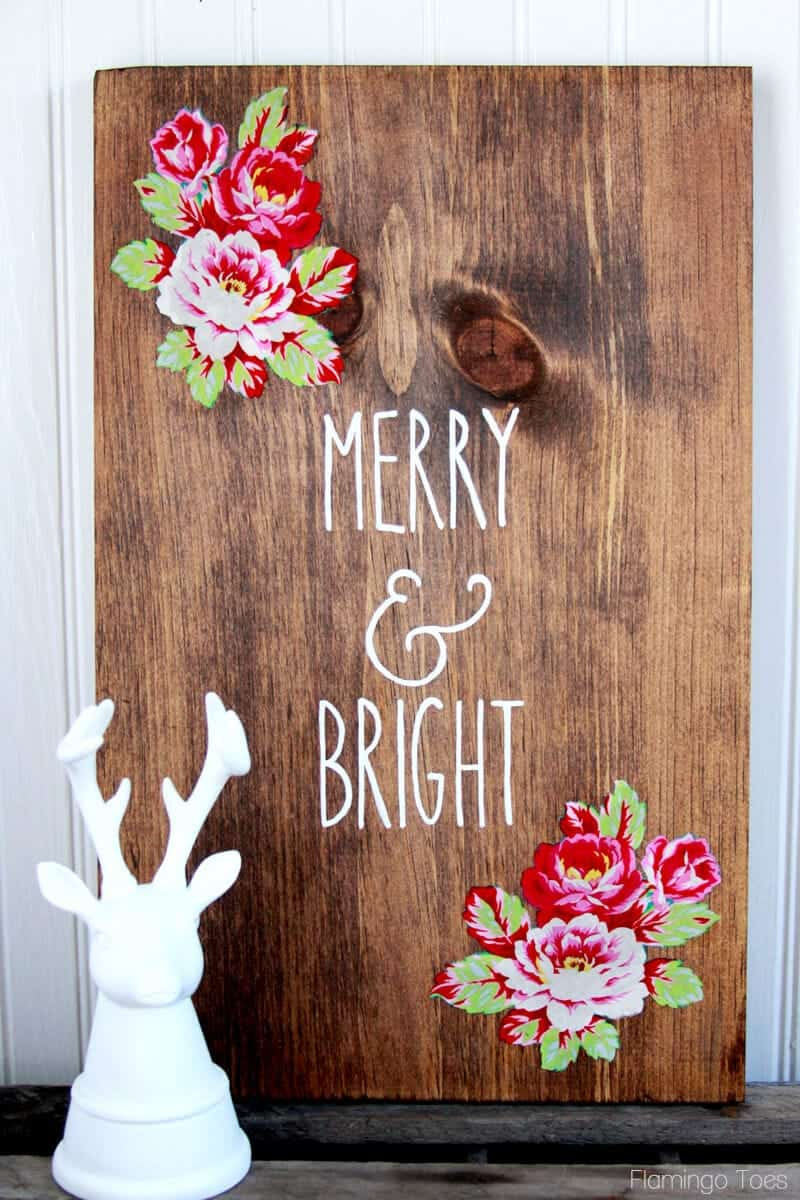 Diy wood christmas sign i heart nap time