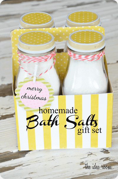 Trend homemade bath salts