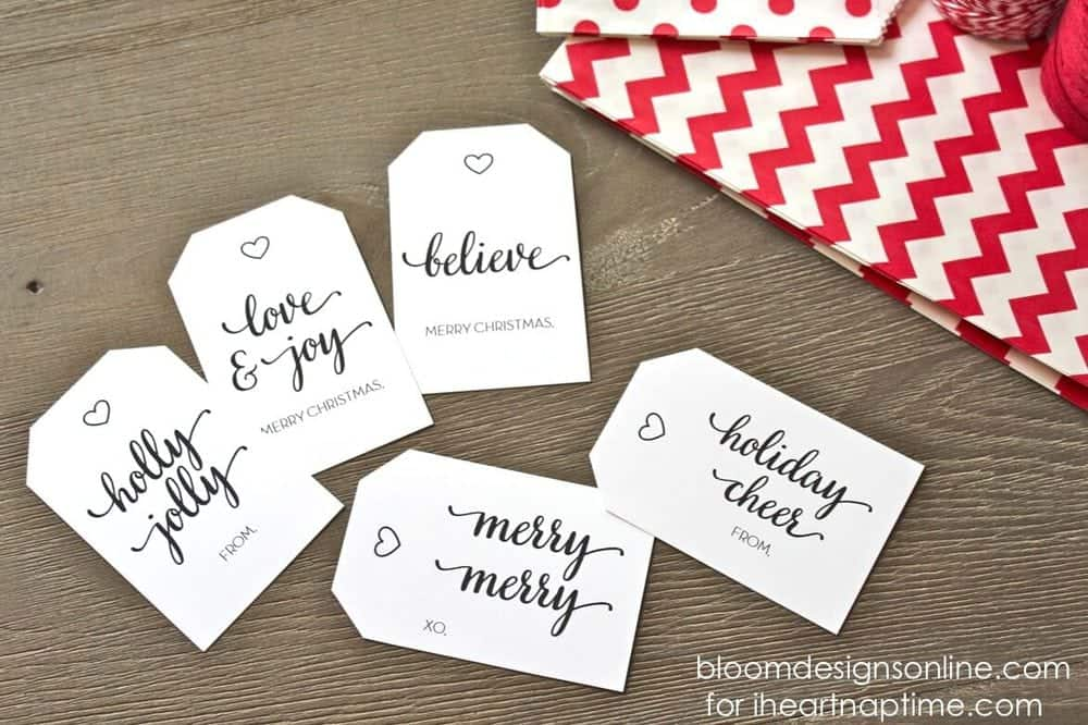 Christmas gift tags i heart nap time christmas gift tags by bloom designs online on iheartnaptime negle Image collections