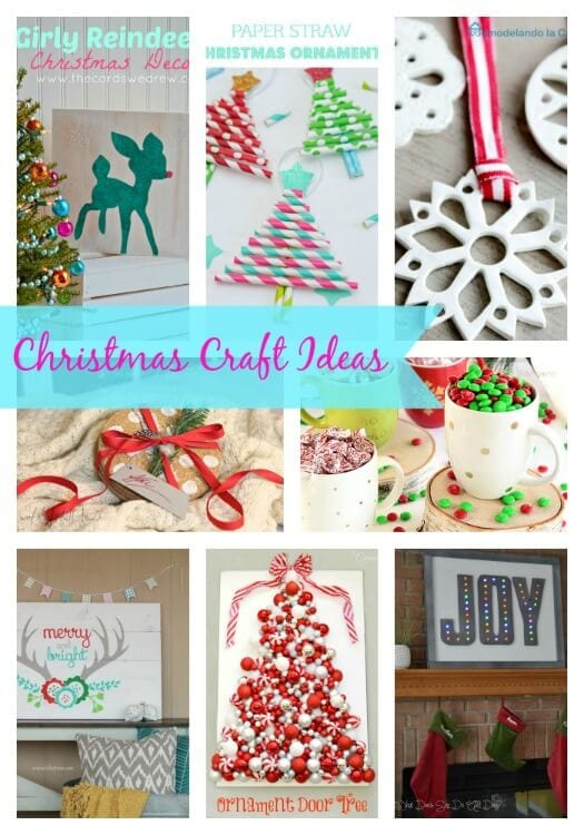 Amazing Christmas Craft Party Ideas Part - 9: 20 Christmas Craft Ideas