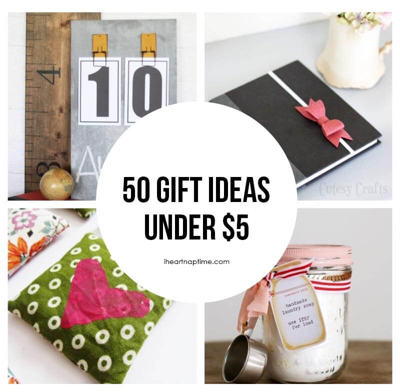 50 homemade gift ideas to make for under 5 i heart nap time Easy gift ideas for friends