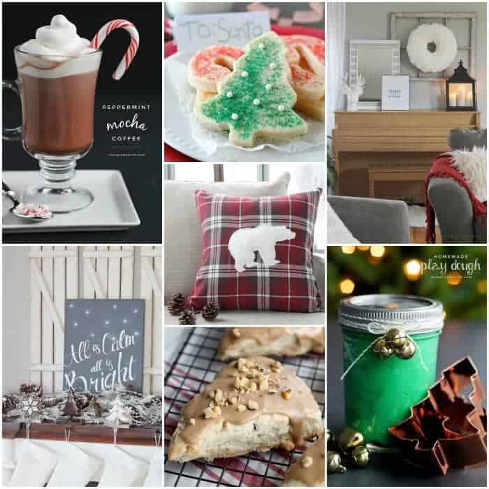 Christmas Recipe and Projects from LoveGrowsWild.com
