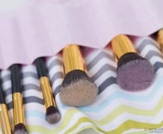 Makeup Brush Roll Brushes