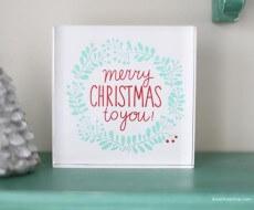 Merry Christmas to you printable