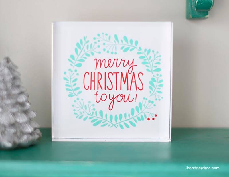 Merry Christmas to you printable