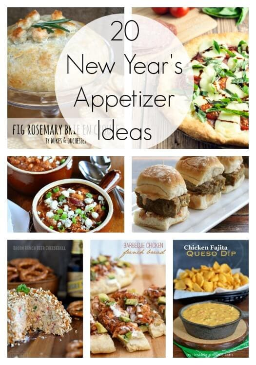 20 new year 39 s appetizer ideas link party features i for Appetizer ideas for new years eve party