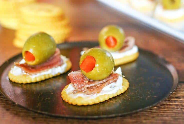 Anchovies And Olive Appetizer