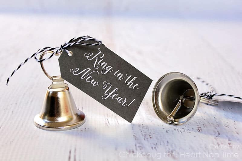 """""""Ring in the New Year"""" printables on iheartnaptime.com"""
