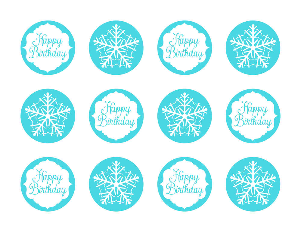 photo about Frozen Party Food Labels Free Printable called Frozen celebration Options with Free of charge printables