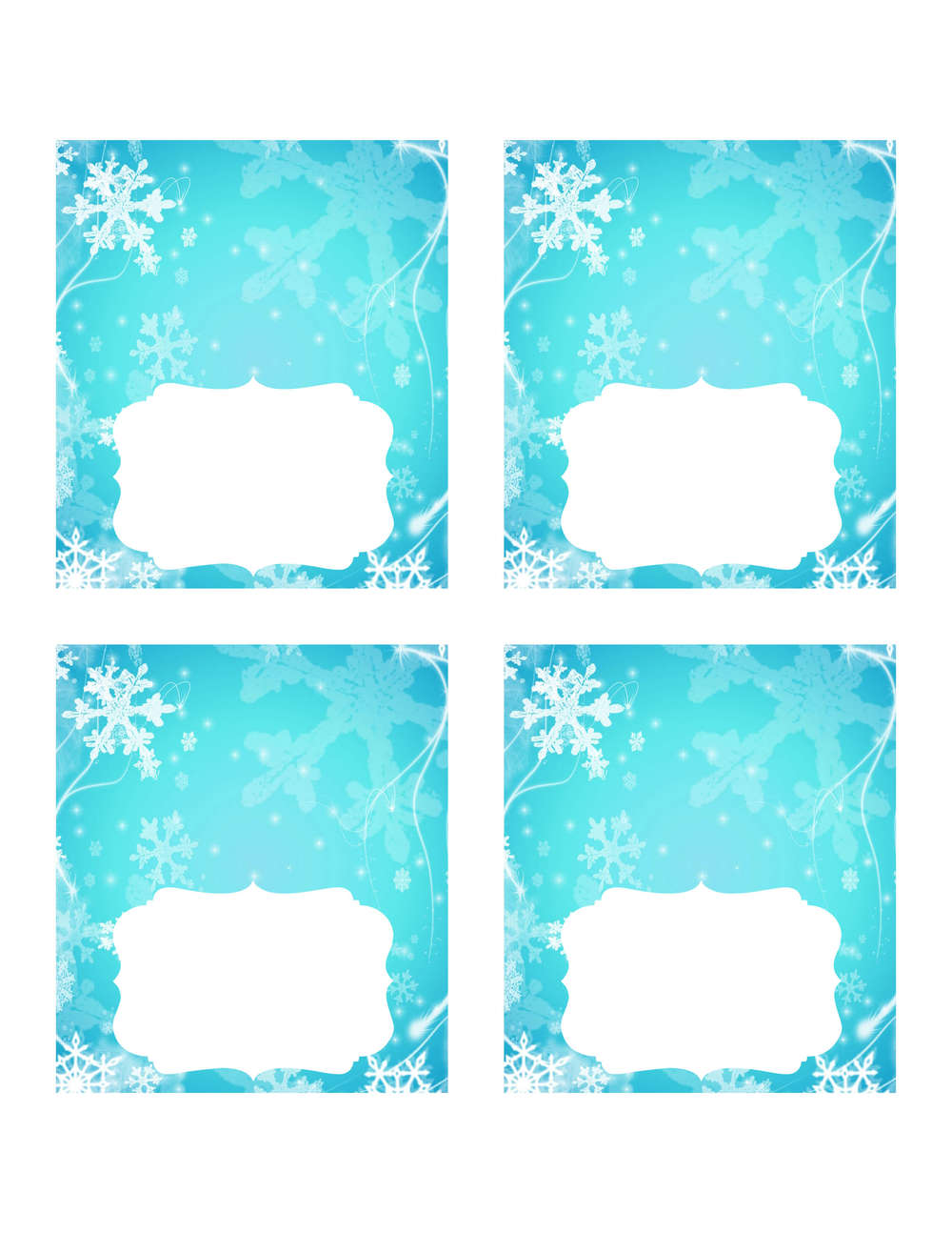 photo about Frozen Party Food Labels Free Printable referred to as Frozen get together Programs with Totally free printables