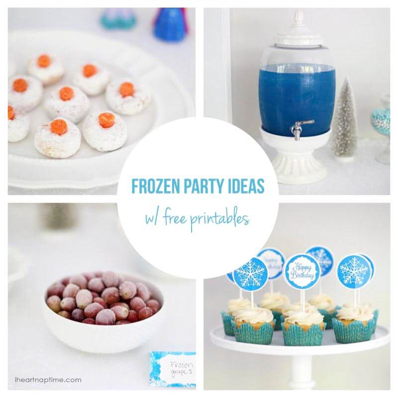 Frozen party ideas with free printables