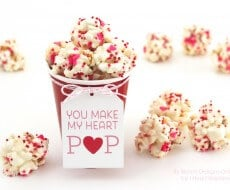 You Make My Heart Pop Recipe and Printable