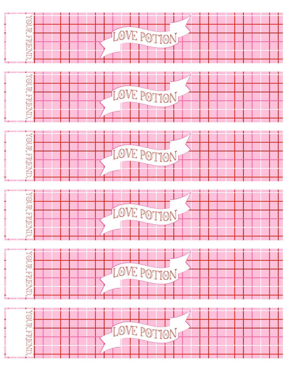 Free printable Valentine water bottle labels - I Heart Nap Time