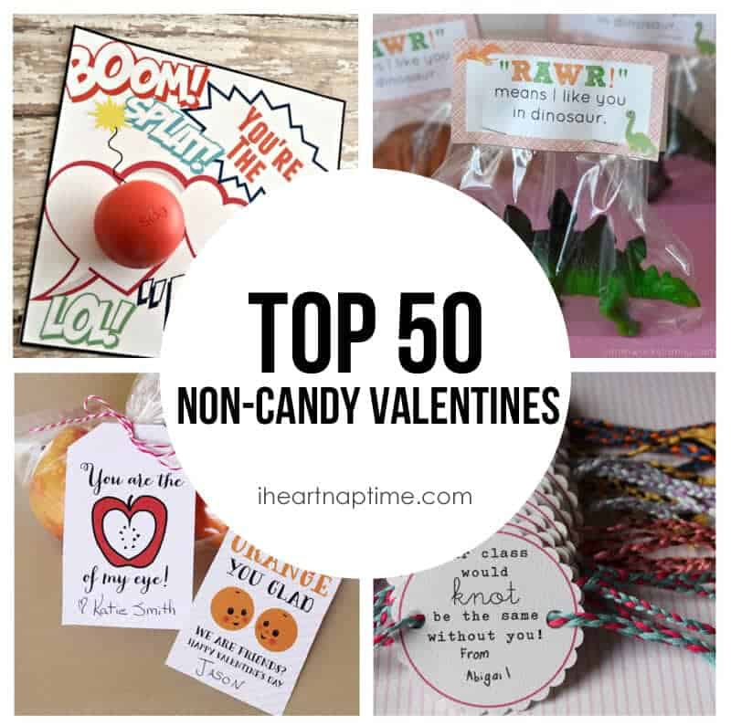top 50 non candy valentines on iheartnaptimecom so many cute ideas - Top Valentines Gifts