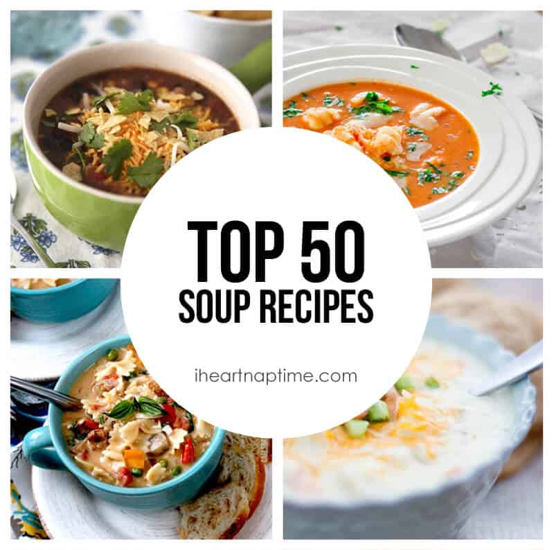 Top 50 Soup Recipes (featured)