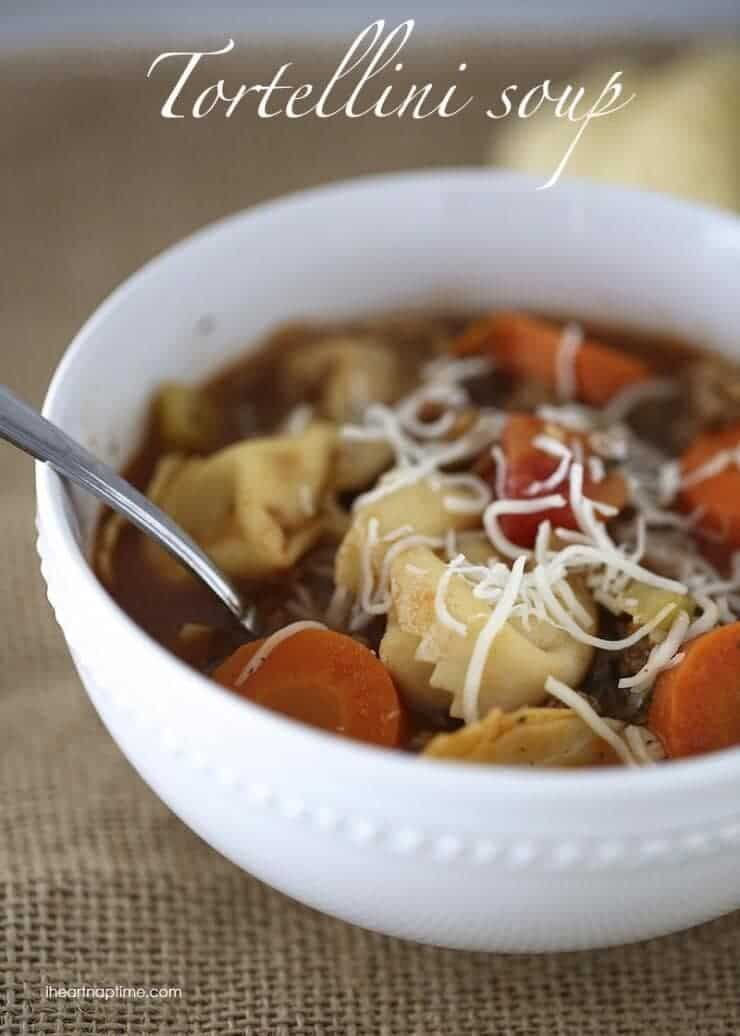 50+ soup recipes from iheartnaptime.com  -great recipes for the cold months ahead. I love all of them!