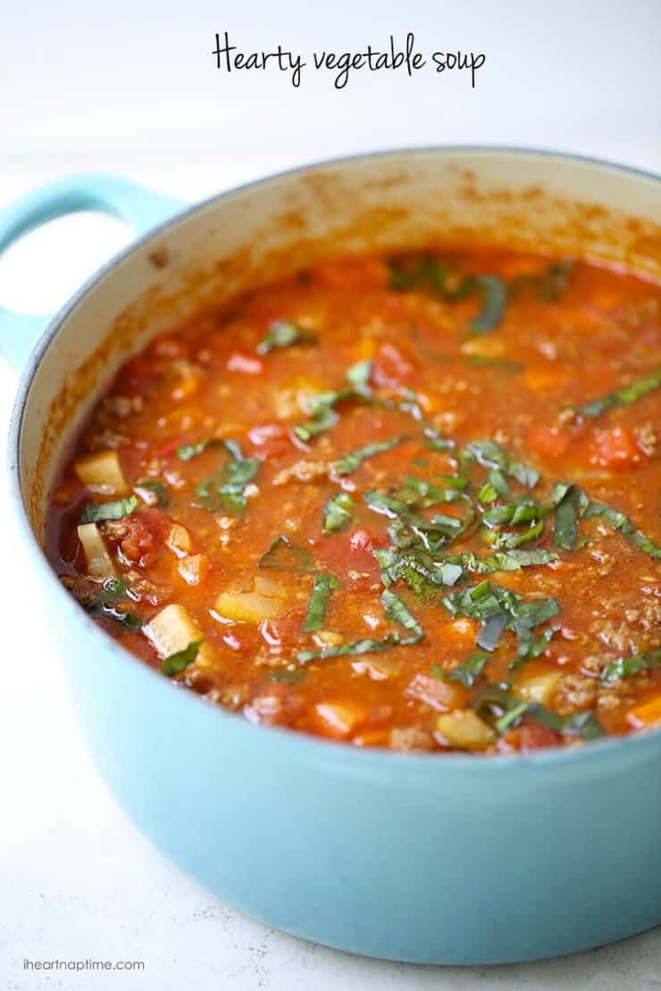 15 {Delicious} warm soups - I Heart Nap Time