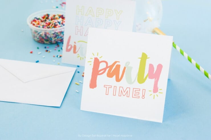 Download These Free Printable Birthday Cards And Print Them At Home Perfect Idea For A Last Minute Card