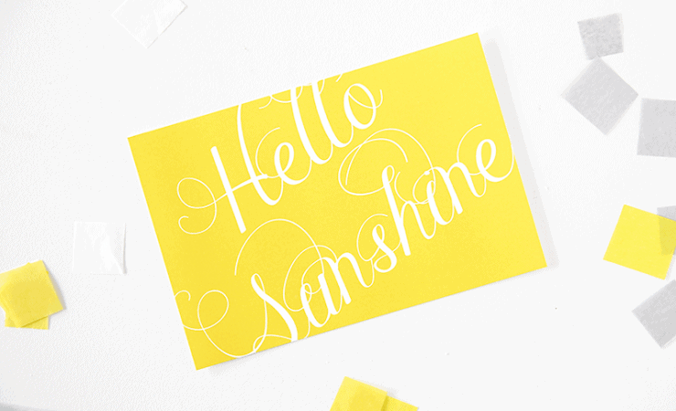Hello sunshine printable
