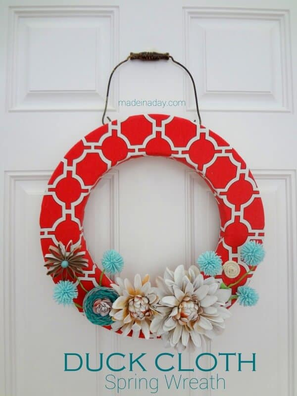 Spring Wreath Ideas Part - 31: Top 50 DIY Spring Wreaths On Iheartnaptime.com -so Many Cute Ideas!