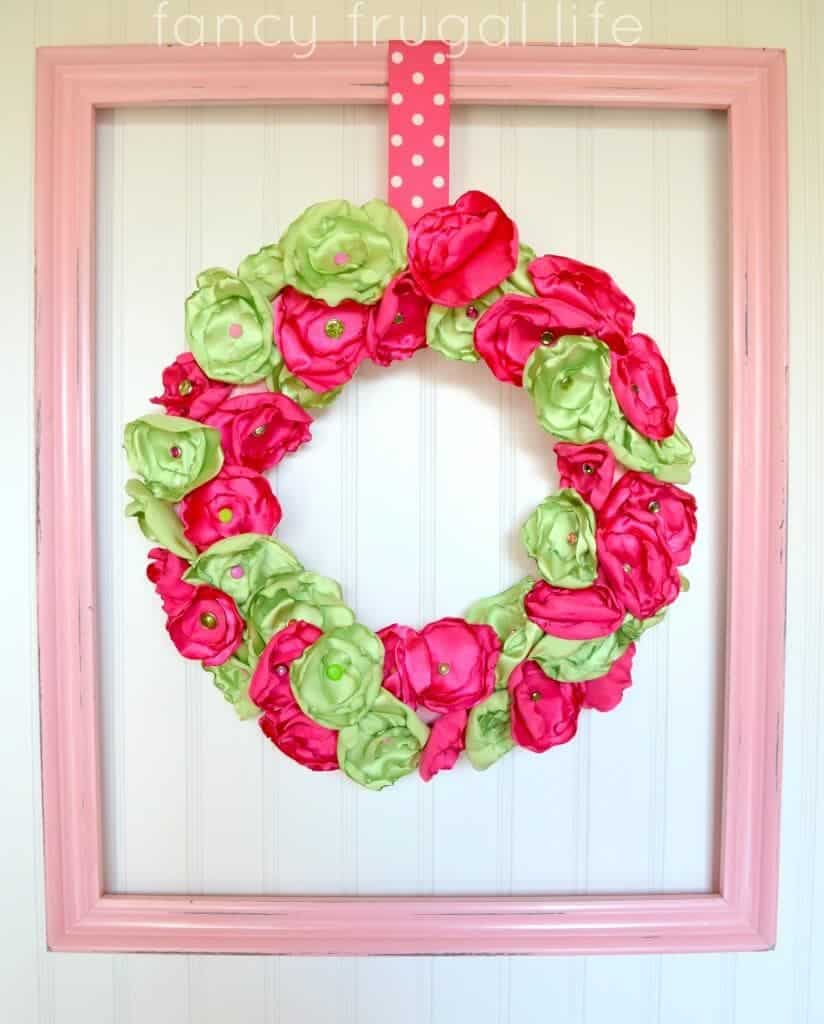 Welcome spring 17 amazing diy wreath ideas style motivation for Amazing wreaths