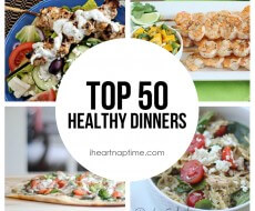 Top 50 Healthy Dinners (featured)