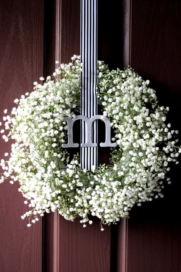 Charming Spring Door Wreath Ideas Part - 12: Top 50 DIY Spring Wreaths On Iheartnaptime.com -so Many Cute Ideas!