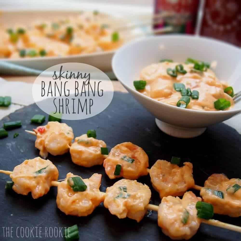 Skinny Bang Bang Shrimp at The Cookie Rookie